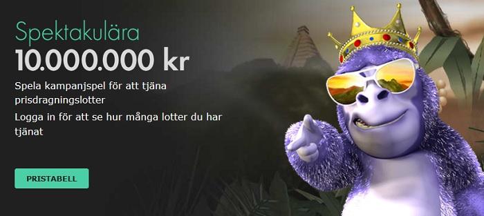 10 miljoner i vinstpott hos Bet365 Casino