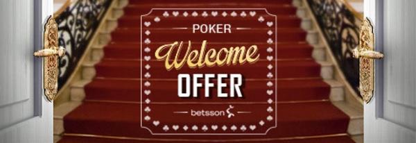 Betsson pokerbonus