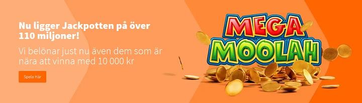 Mega Moolah jackpott nu över 100 miljoner