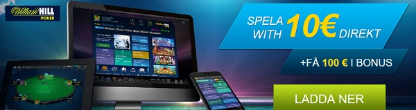 Spela Texas Holdem online hos William Hill