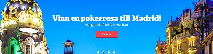 Vinn pokerresa till Madrid med Paf 2020