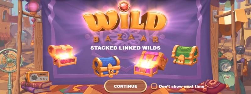 Spelautomaten Wild Bazaar från NetEnt