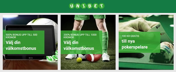 Kampanj hos Unibet