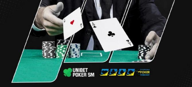 Poker SM 2021 hos Unibet